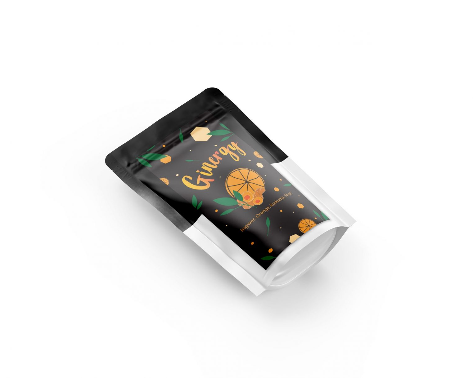Ginger Candy Pouch Mockup