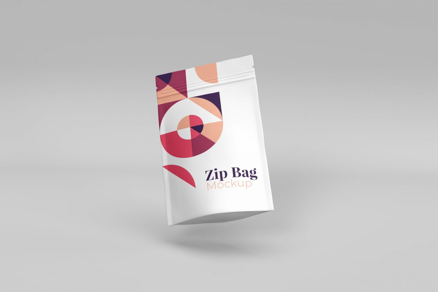 Luxury White Pouch Mockup